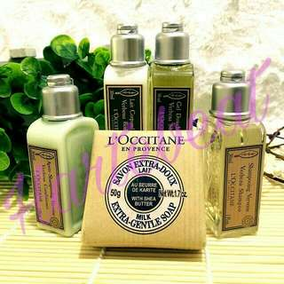 L'occitane Travel Set