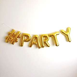 #PARTY balloons