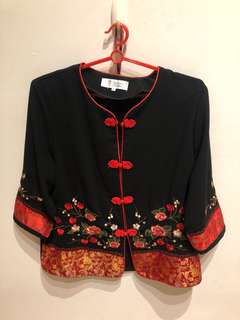 Chinese Oriental Top Size S