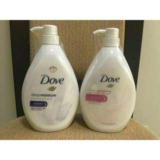 D*o*v*e Nourishing Body Wash