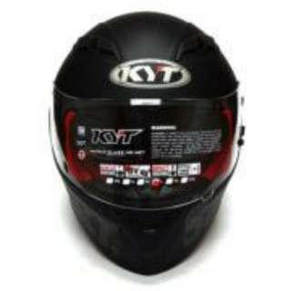 Helm KYT Satu Hati - Balck Matte Edition