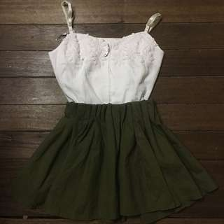 Army green skirt (personal fav)