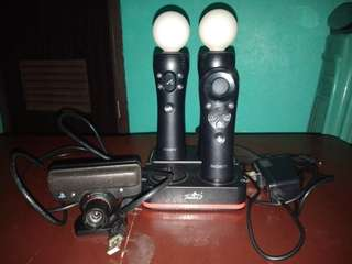 PS move, navigator, eye