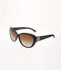 Authentic Tory Burch Classic Cat Eye Sun Glasses