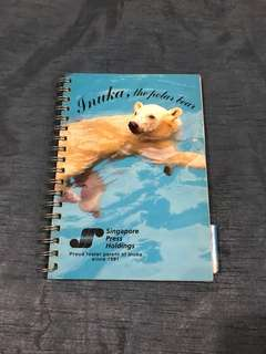 INUKA 10th Birthday Notebook Collector's