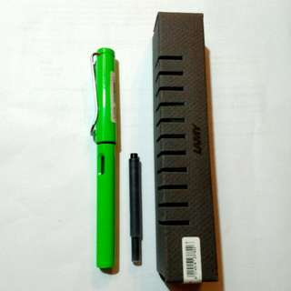 Germany Green Lamy Safari B Fountain Pen