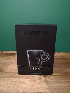 New: Nespresso View Expresso Cups
