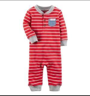 *6M* BN Carter's Pocket Jumpsuit For Baby Boy