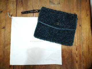 Used once 98% 新 Anteprima clutch bag 減價 $800