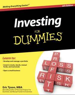 Investing for dummies ebook PDF