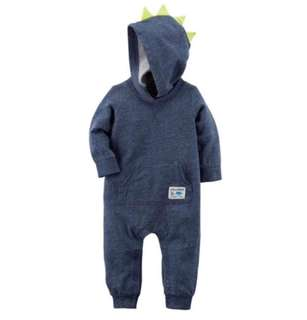 *6M* BN Carter's Spike Jumpsuit For Baby Boy