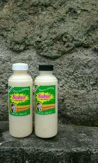 Sukur , susu dan kurma
