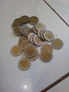 Uang KUNO Koin Kelapa Sawit Rp 1000
