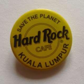 Hard Rock Cafe Kuala Lumpur Badge
