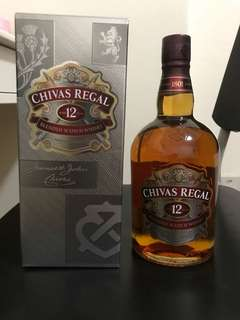 Chivas Regal 12 years whisky (1L)