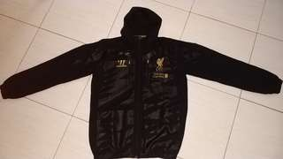 Liverpool warrior training jacket '13 -' 14 with hoodie