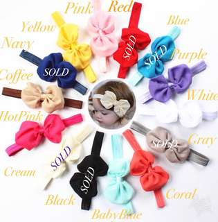 <Supersale > Baby Headband 3 For $5 only