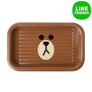 LINE FRIENDS BROWN pen tray