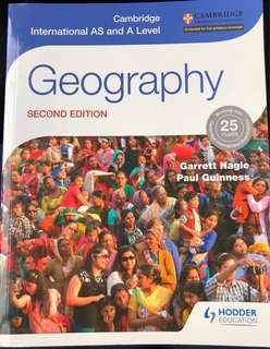 Geography H2 A level textbook second edition Garrett Nagle