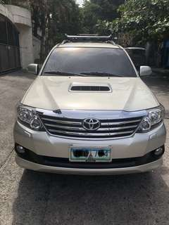 Toyota Fortuner 2013 G Diesel Automatic Transmission
