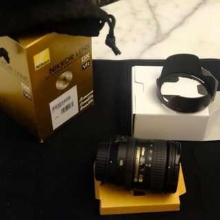 Nikon AF-S DX NIKKOR 16-85mm f/3.5-5.6G ED Vibration Reduction Zoom Lens with Auto Focus for Nikon DSLR Cameras