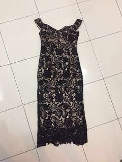 Black Lace dinner dress