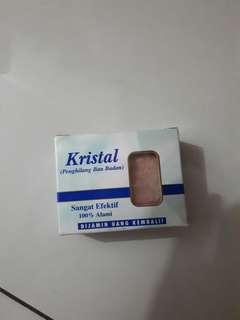 Sabun Kristal Penghilang bau badan ampuh