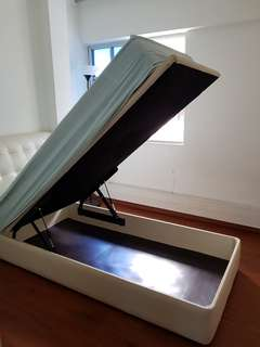 Single Storage Bed with Seahorse Mattress