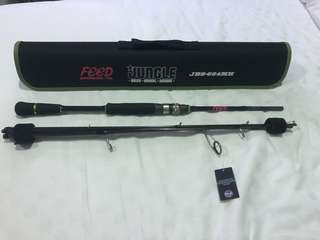 FEED travel rod ( Brand new ) With Tags!