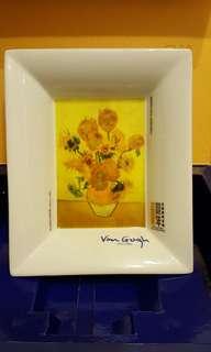Van Gogh 碟 (20cm x 17cm)