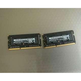 全新 2GB DDR3 記憶體*2