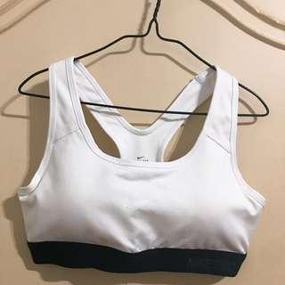NEW ★ NIKE ★ 黑x白配色 運動內衣 運動背心 (附雙襯墊/S)