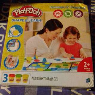 Shape And Learn Play-Doh