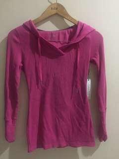 Calvin Klein pink hoodie top