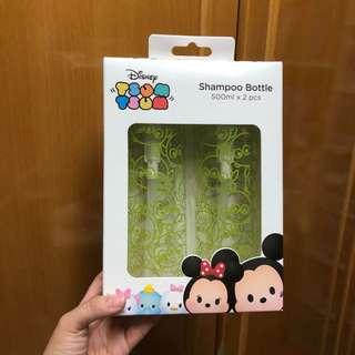 迪士尼 Disney Tsum Tsum 三眼仔 浴室用品 洗頭水 沐浴露 護髮素 refill樽