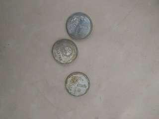 菊花一角 中國硬幣
