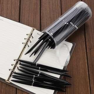 40枝藍色原子筆 開封筆