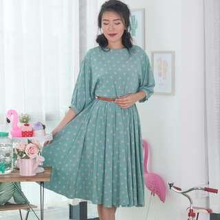 🍿 Vintage Midi Dress VD1257