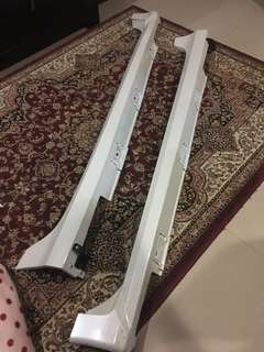 Side skirts civic fc original honda putih