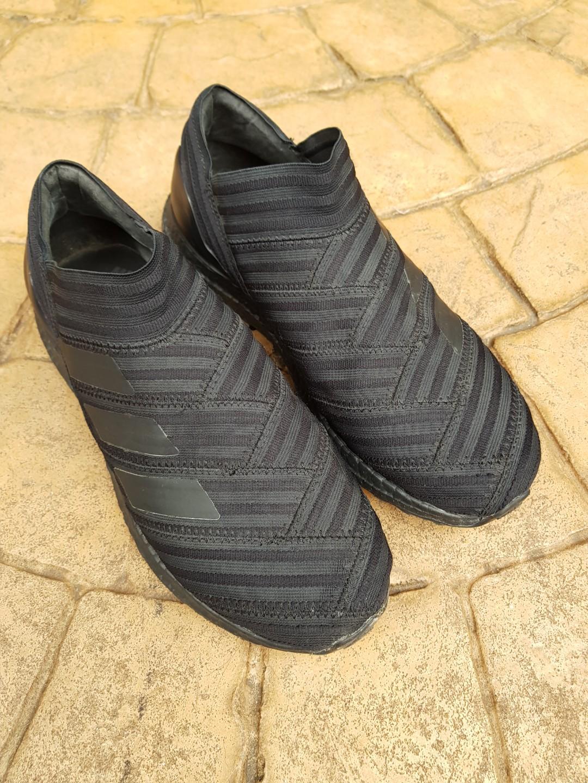 6b8be55c4260e Adidas Nemeziz Tango 17+ Ultraboost triple black