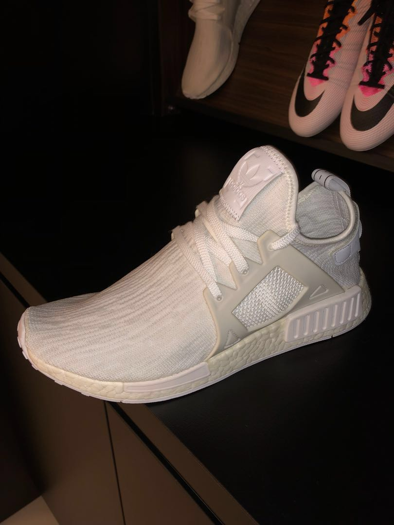 san francisco d0f4e f1388 Adidas NMD XR1 PK Triple White