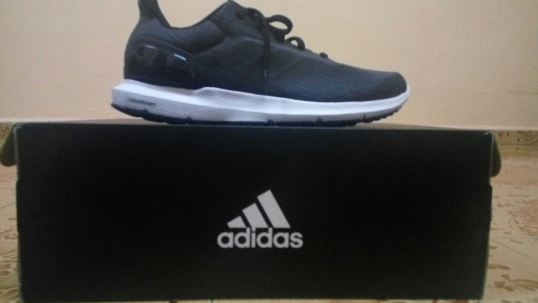 5a9a3036dee1 (Reduced Price)Adidas Ortholite Cloudfoam (Original) - Black -  Running Training Shoes