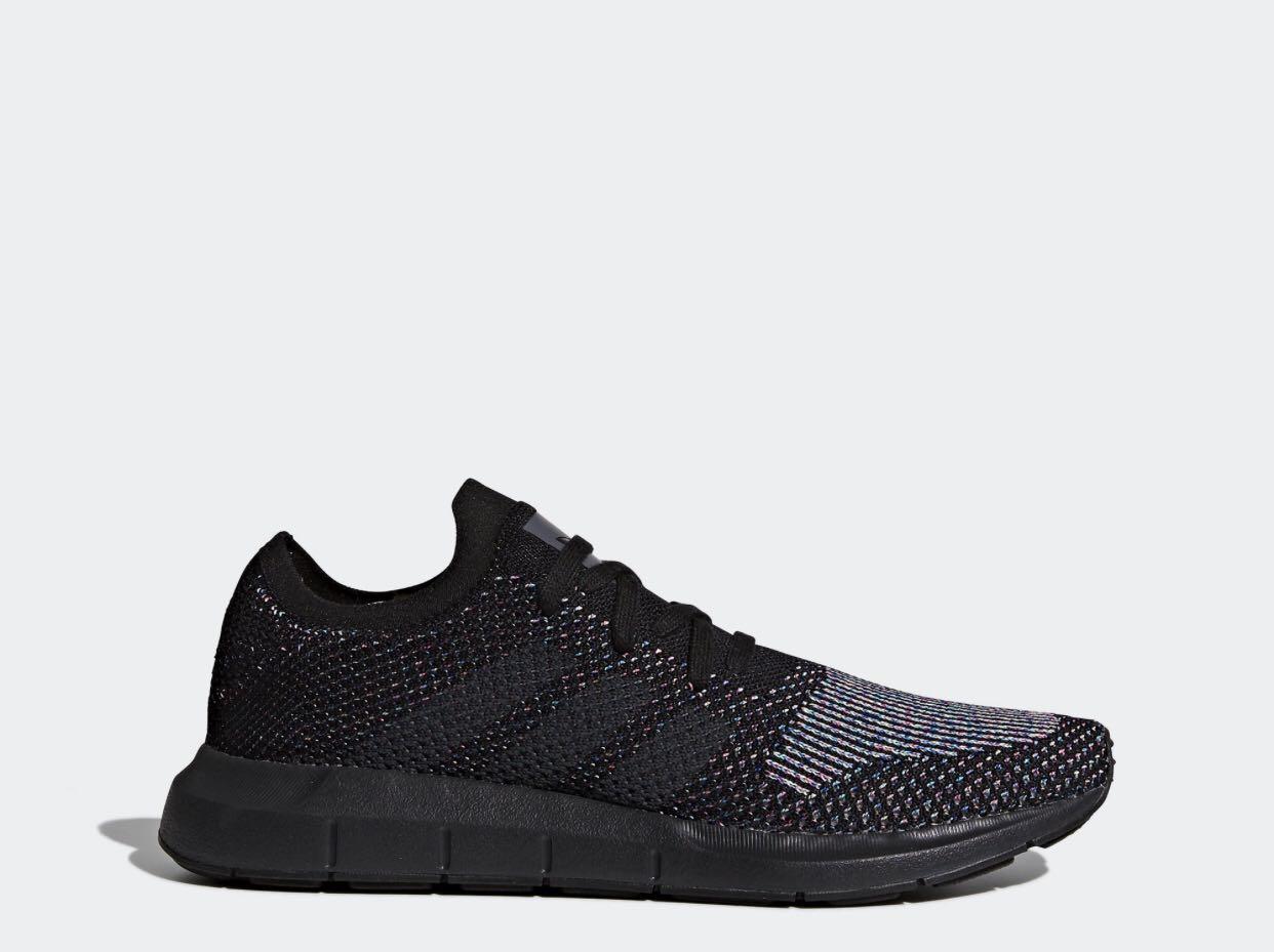 Adidas Swift Run Primeknit 'Black