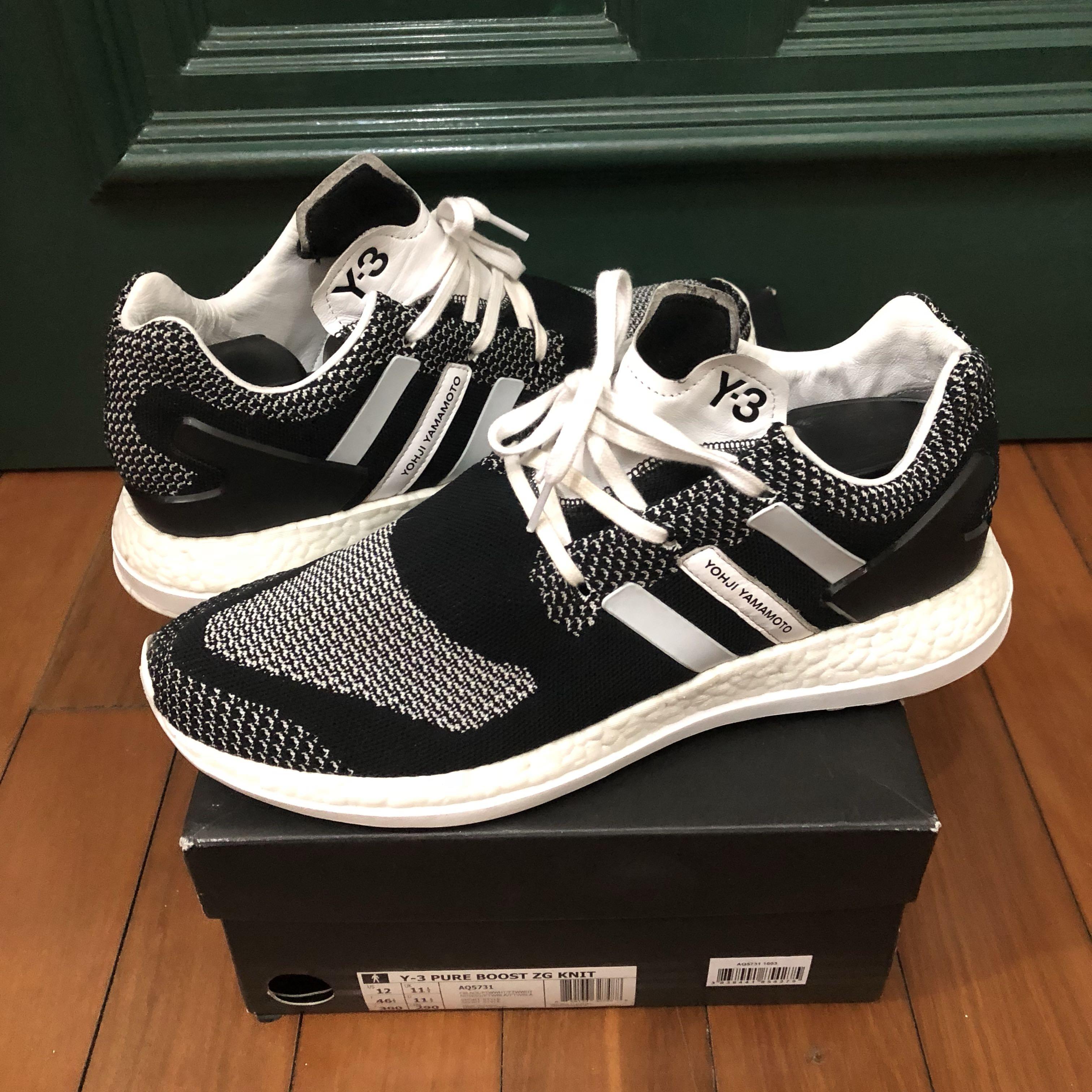 08502644b7eea Adidas y-3 pureboost ZG KNIT