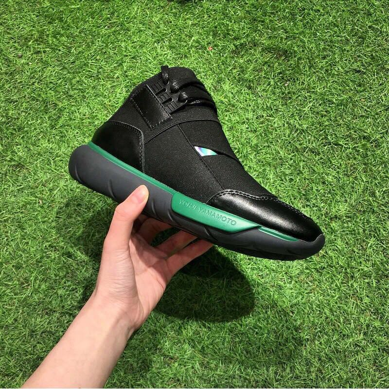 d08d28aa778fa Adidas Y-3 Y3 QASA High Black and Green
