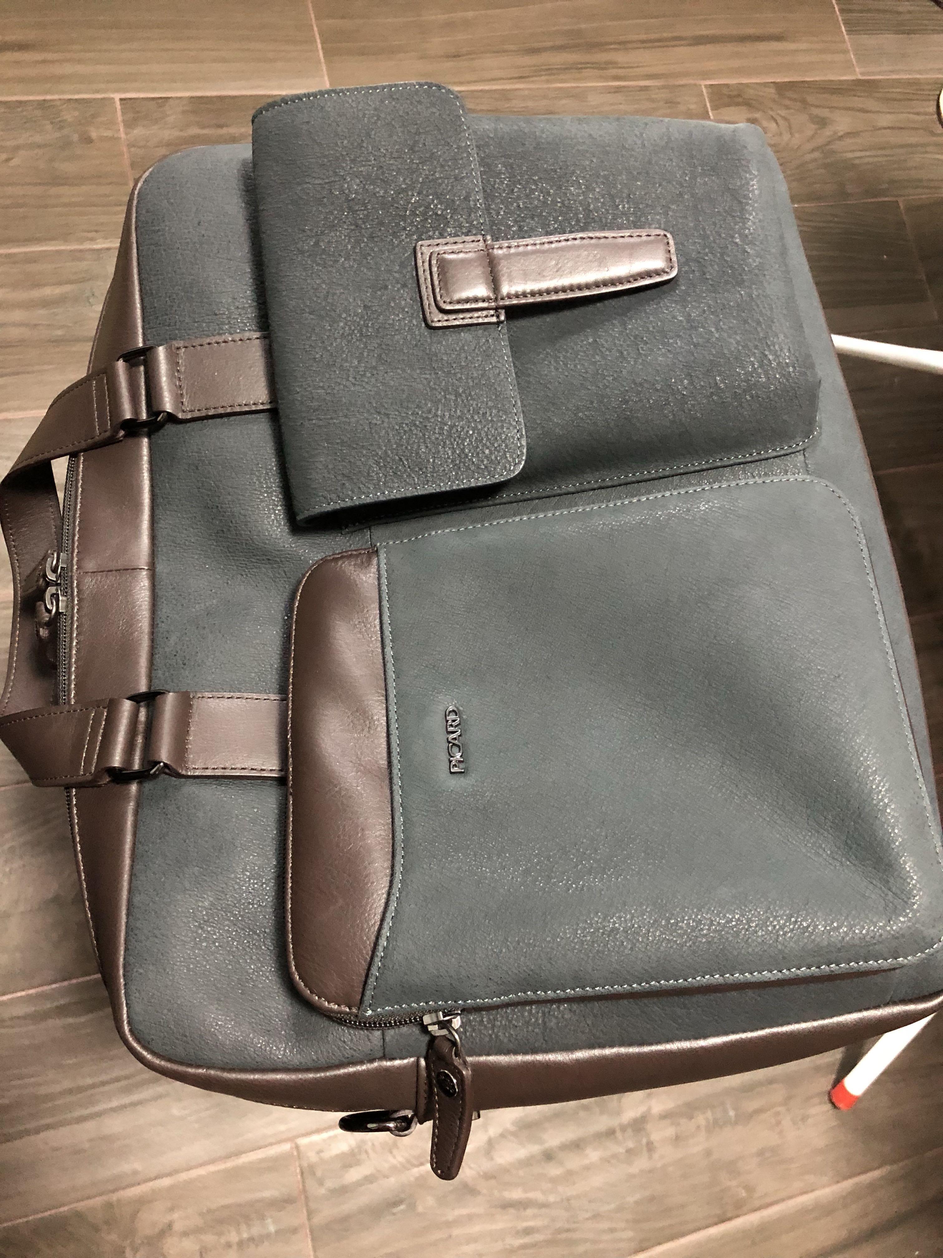 4a59ed343d8 Authentic Picard Genuine leather waren men bag