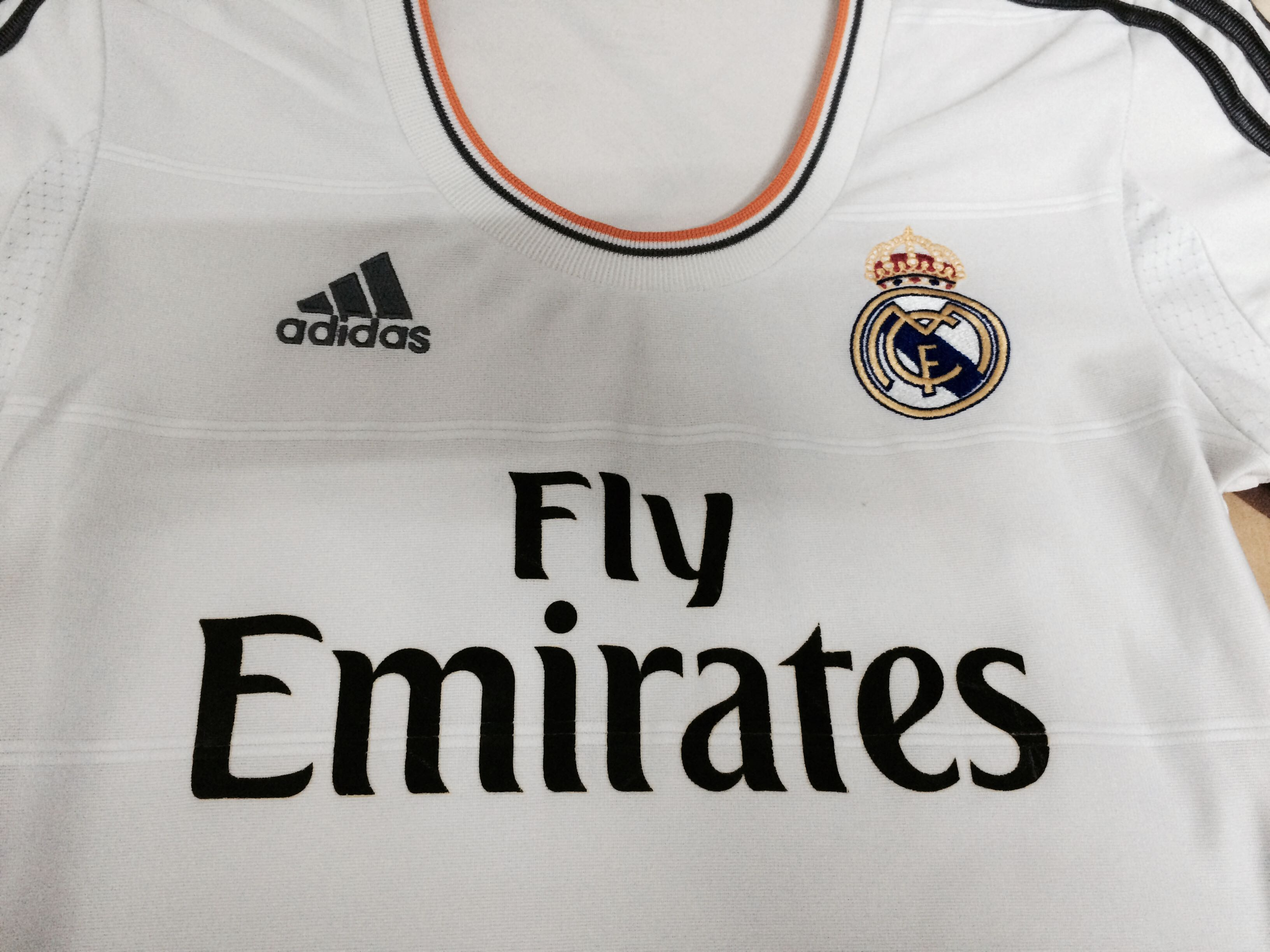 d809f4658 Authentic Real Madrid Female Jersey