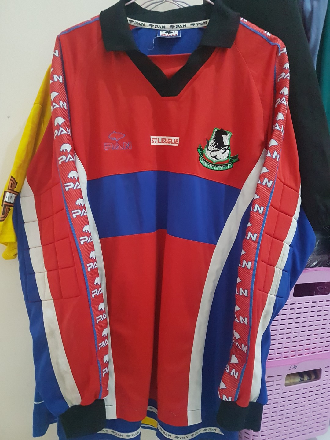 393cbaebfa9 Authentic Sembawang Rangers FC GK Jersey, Sports, Sports Apparel on  Carousell