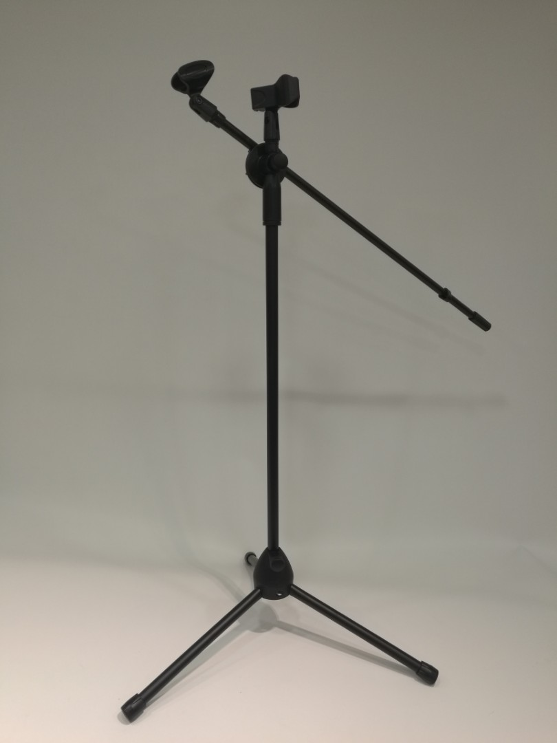 Brand new Microphone stand(with 2 mic clip)