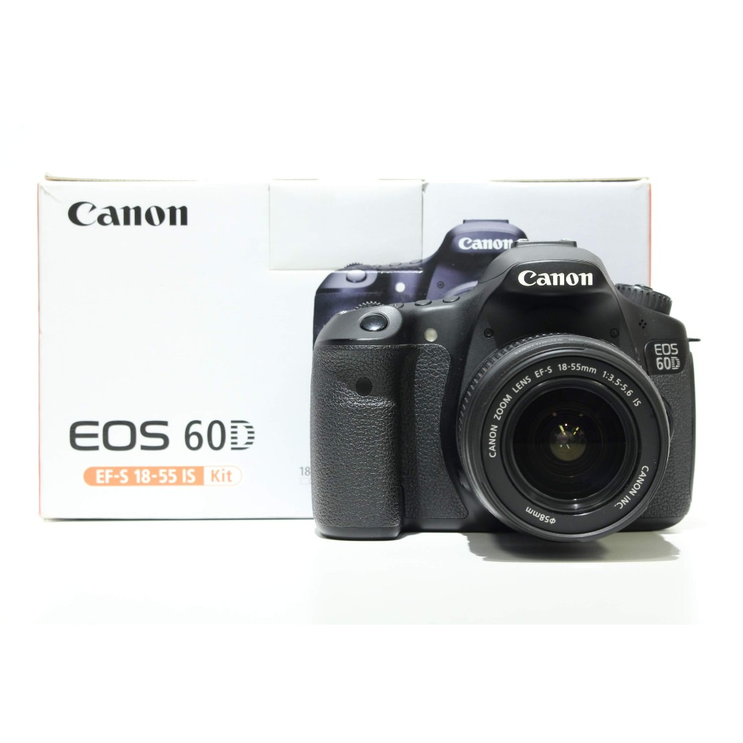 Canon EOS 60D Bodywith 18-55mm IS Kit Lens